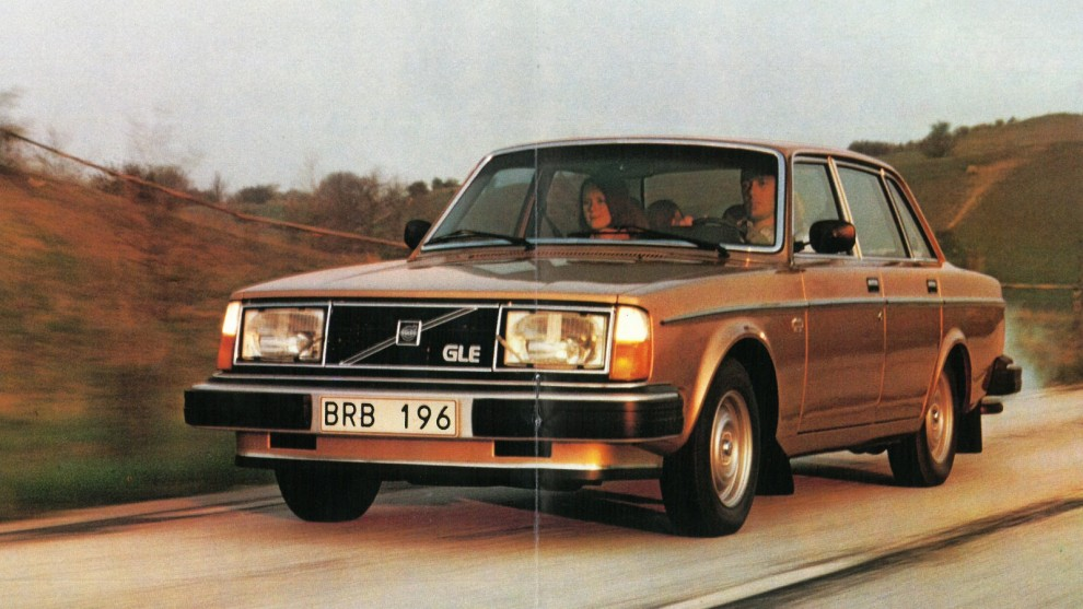Nya 244/245 GLE var lyxigast av alla 240-modeller 1979.