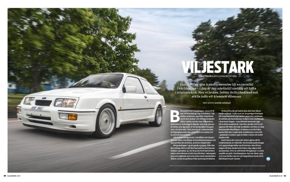 Ford Sierra RS Cosworth i omodifierat originalskick, hur är den att köra?