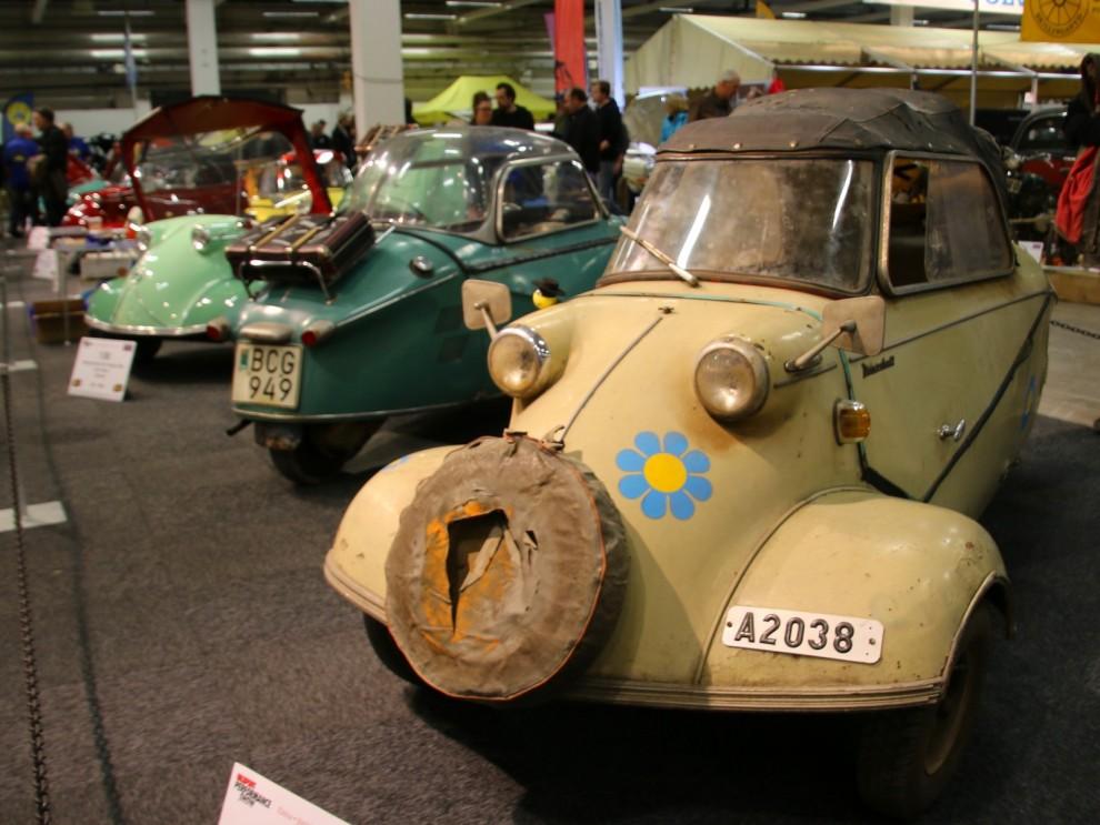 Messerschmitt i ladugårdsfyndskick.