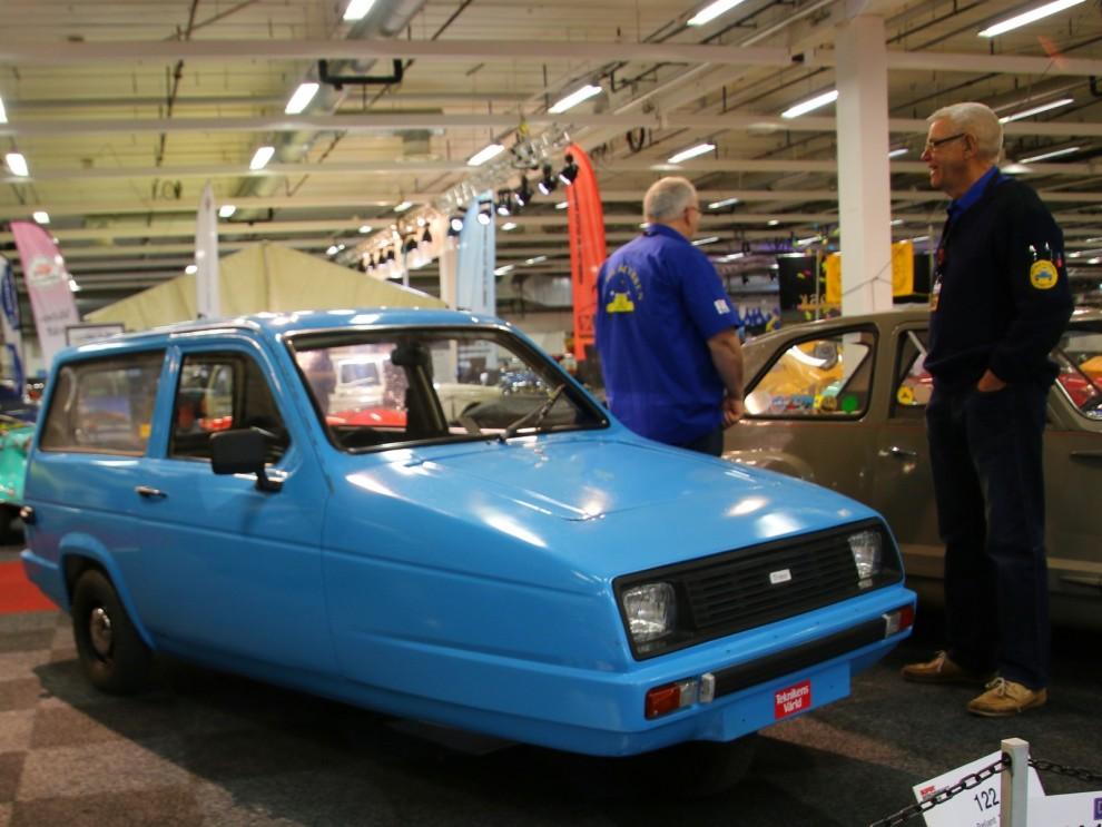 Reliant Rialto 1983, Reliant hängde sig kvar länge med sina besynnerliga trehjulingar som gjordes fram till 2001.