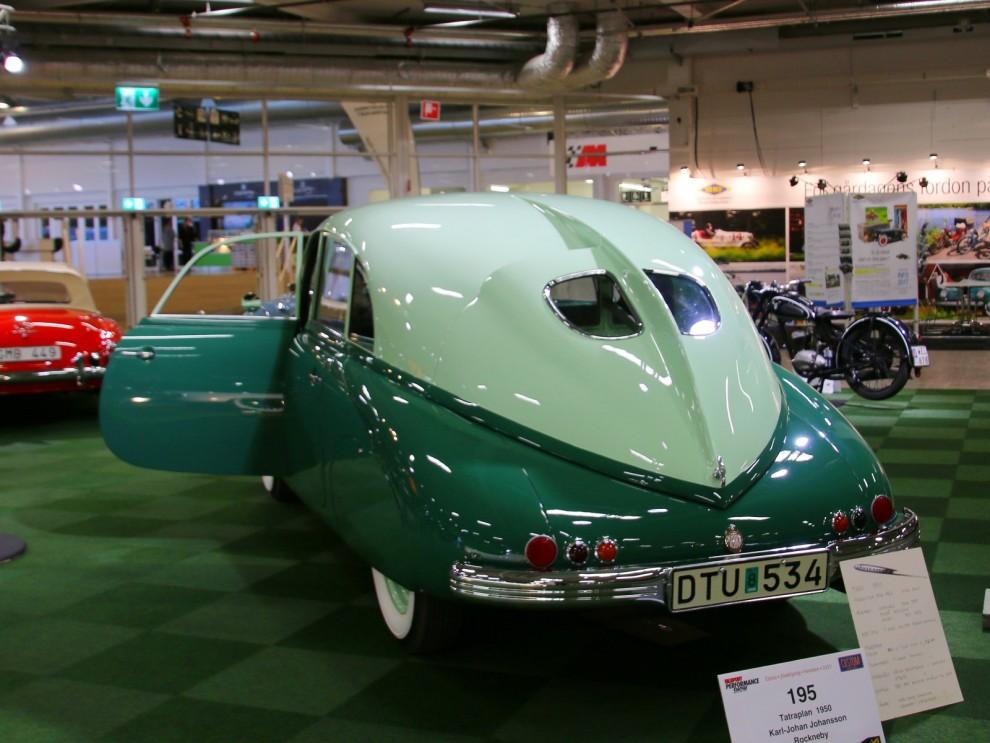 Läckert tvåfärgad Tatra från 1950