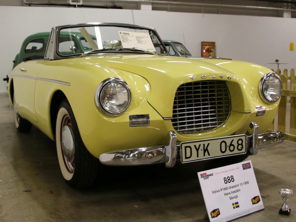 En av de sällsynta P199, eller Volvo Sport som den egentligen hette.