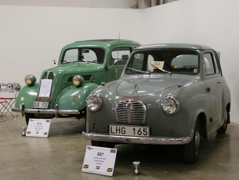 folkligt brittiskt från förr, Ford Anglia och Austin A30
