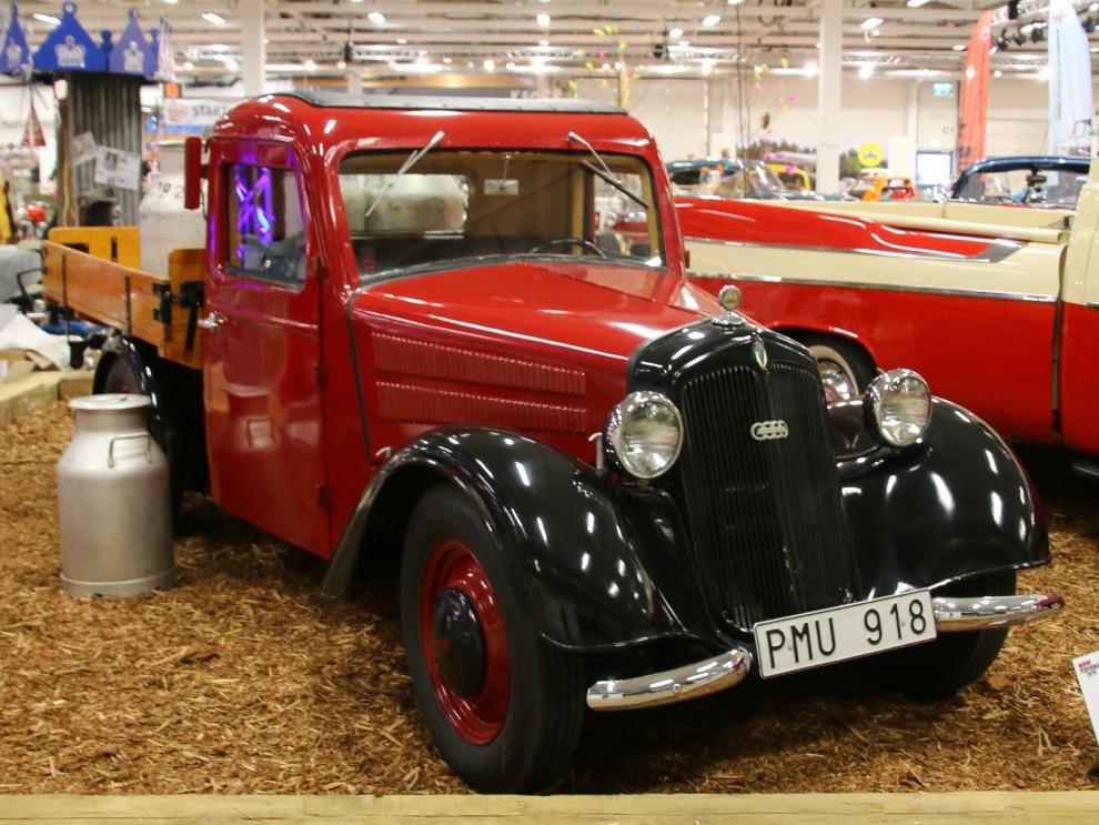 Ovanlig liten laståsna, DKW F8-700 från 1939