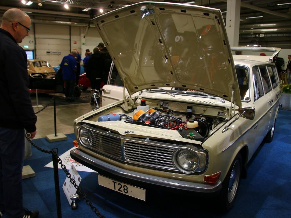 Kan detta vara sveriges finaste 145:a? Det är definitivt en av de äldsta, T28 står för testbil 28, av de 30 man gjorde innan produktionen kom igång.