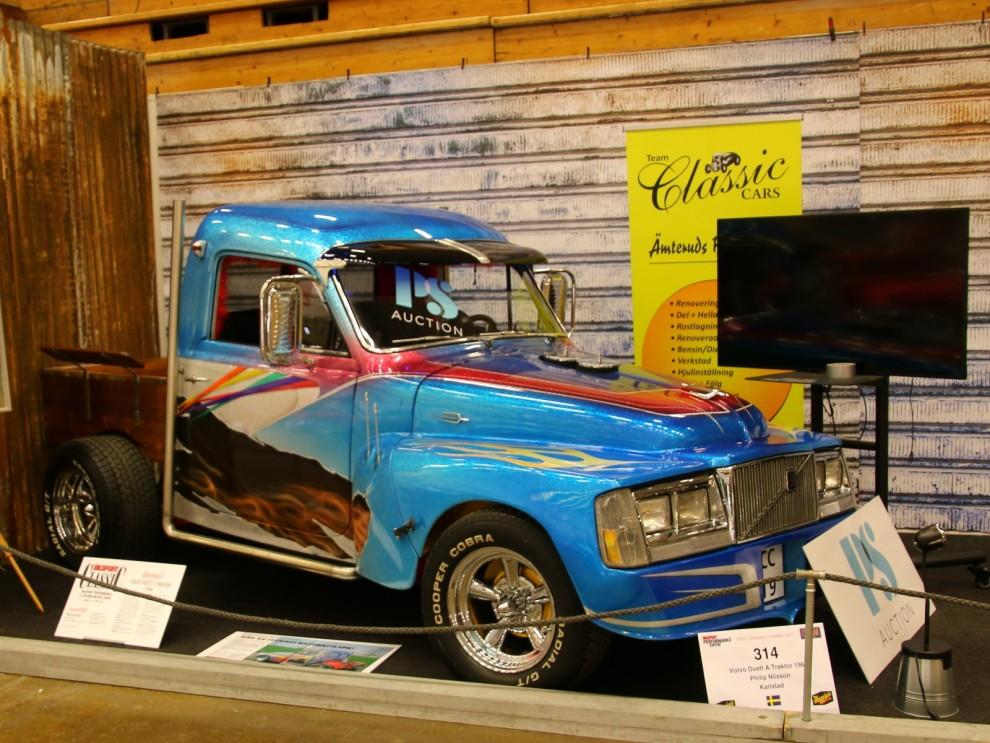 Custom Motor show handlar ju ju rätt mycket om just custom, motor och show. Epa i flake, motivlack och alla de attiraljer som var hetast runt 1980 platsar klart in här.