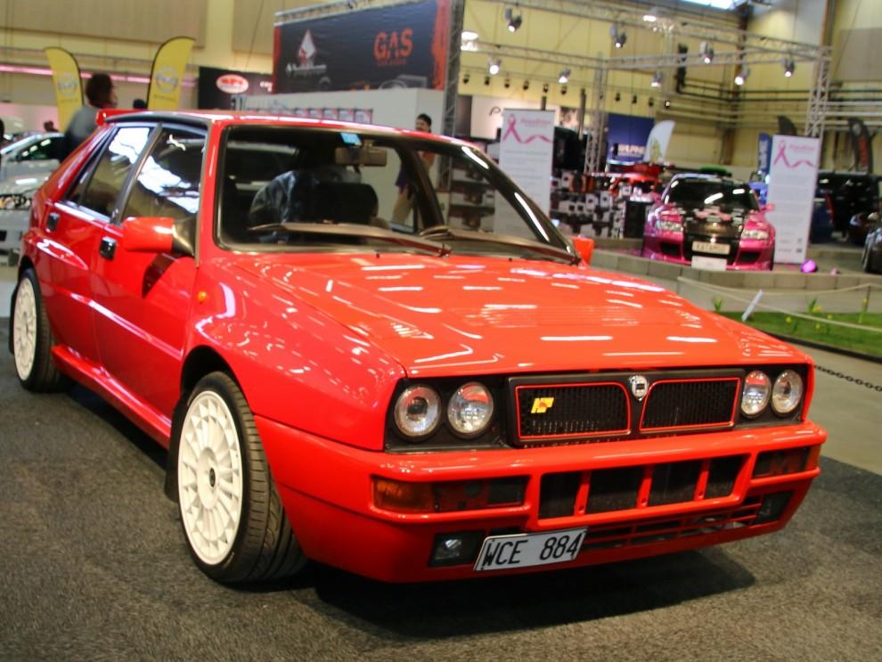 Här fanns också nägra stycken Evo spcialare, som Lancia Delta HF