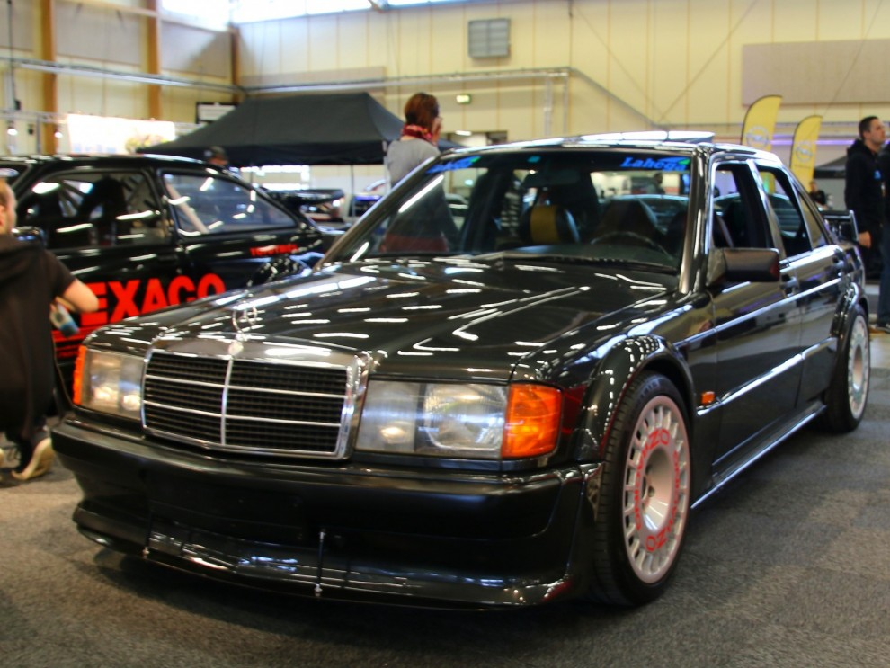 Mercedes Benz 190E Evo2 var en brutal best 1993.