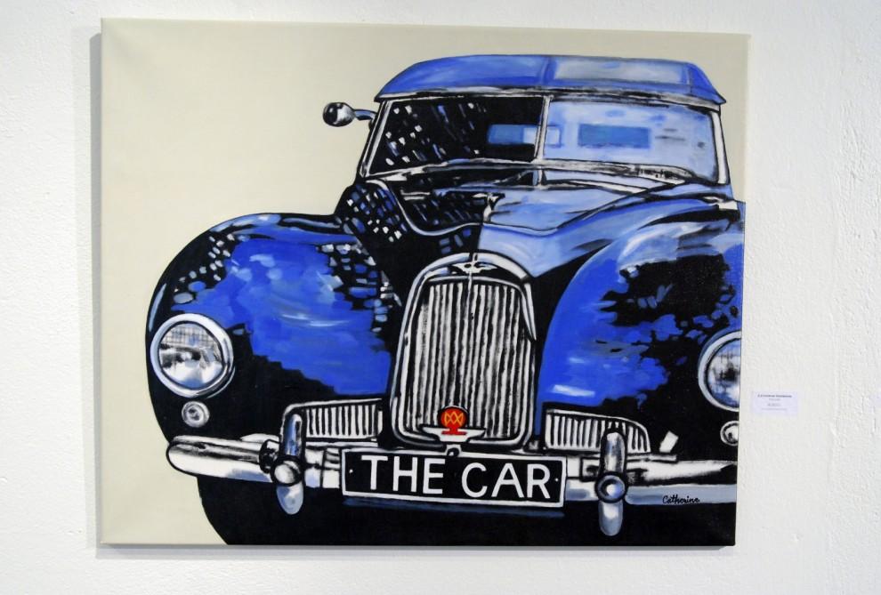 "Catherine Snöbohms verk ""The Car""."