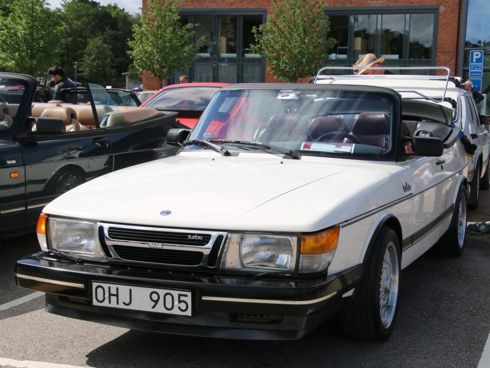 Det här är ingen vanlig 900 cabriolet utan en av de tidigaste prototyperna.
