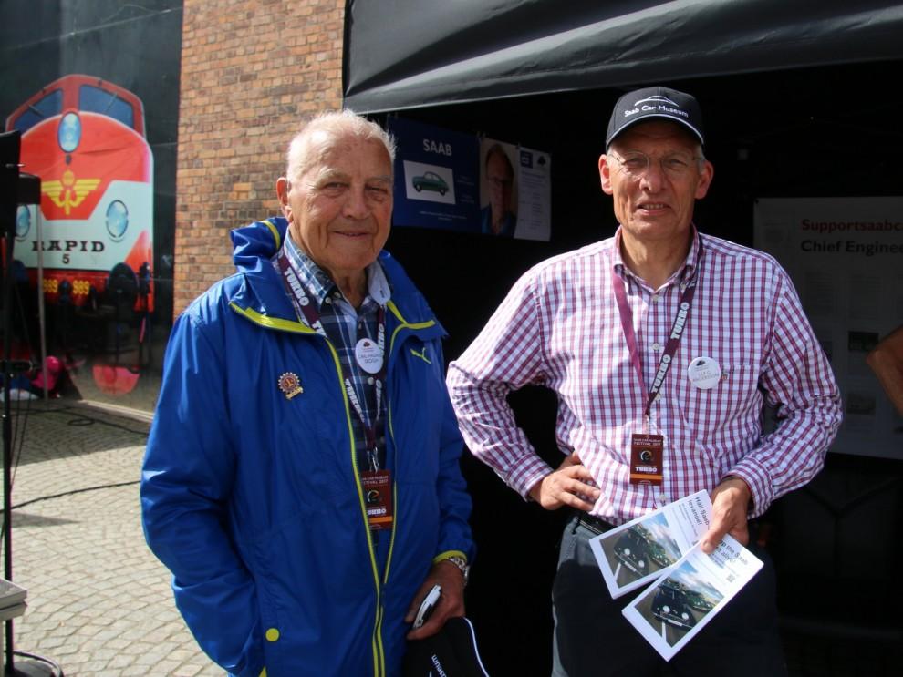 Saablegendarer, Carl Magnus Skogh och Ulf G Andersson.