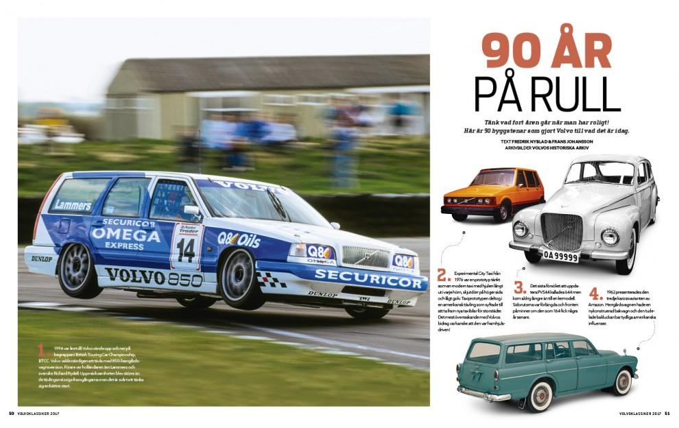 Vi firar Volvos första 90 år på rull!