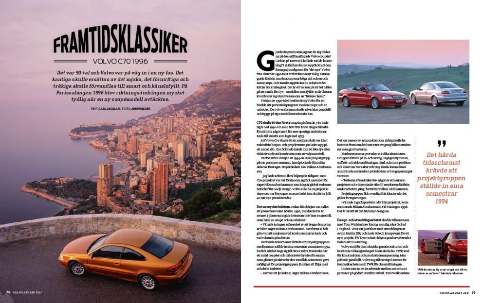 Volvo C70 – nästa klassikerklättrare?
