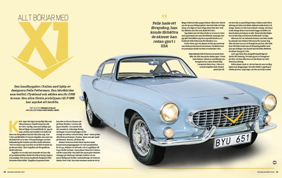 Den allra första Volvo P1800:n – den existerar fortfarande!
