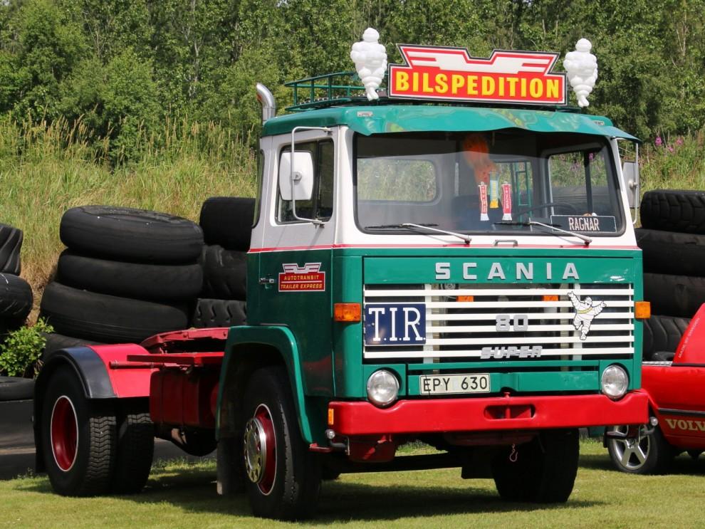 Största europaekipaget, Scania från 1970