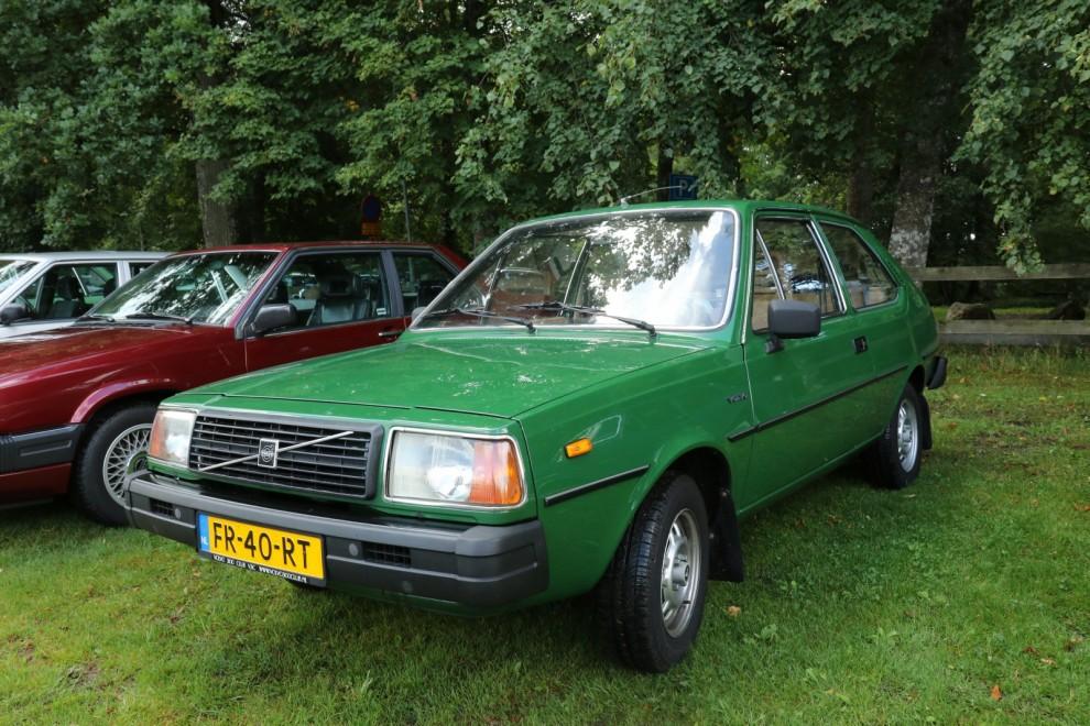 Här har vi facit på hur Klassikers projektbil Volvo 343 DL borde se ut. Ändå var de holländska ägarna intresserade av att köpa vår bil.