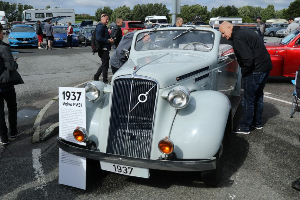 Volvo PV51 cabriolet byggd av Nordnergs karosseri i Stockholm.