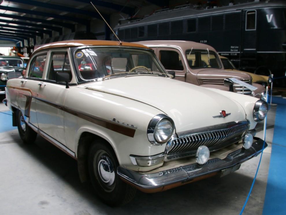 """GAZ M21 Volga är idag en populär modell. Såldes i ringa upplaga i Sverige när det begav sig, desto mer i Finland där man kallade den för """"stridsvagn i aftonklänning"""""""