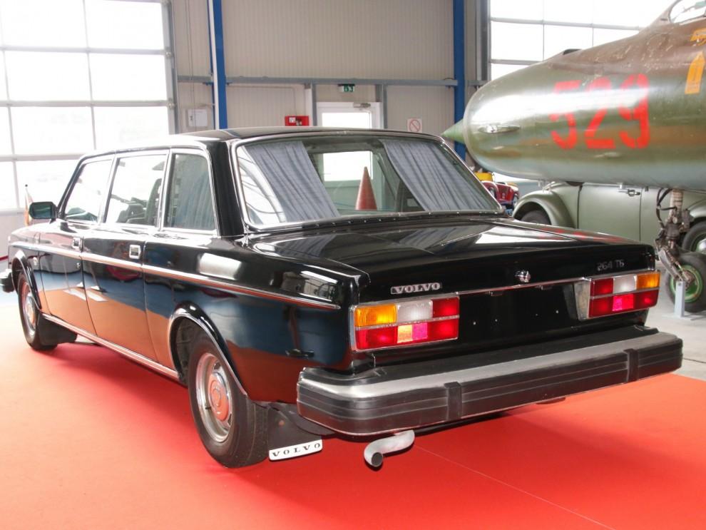 DDR:a partidignitärer hade en förkärlek för Volvo, främst då såklart 264TE limousinen.