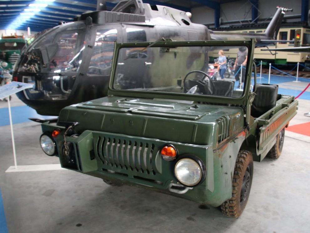 Den här krabaten är en Luaz 967M , amphibiebil från Lutskiy Auto Zavod i nuvarande Ukraina.