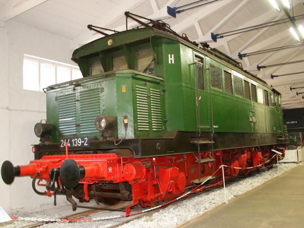 Lokomotiv från Henschel 1942.