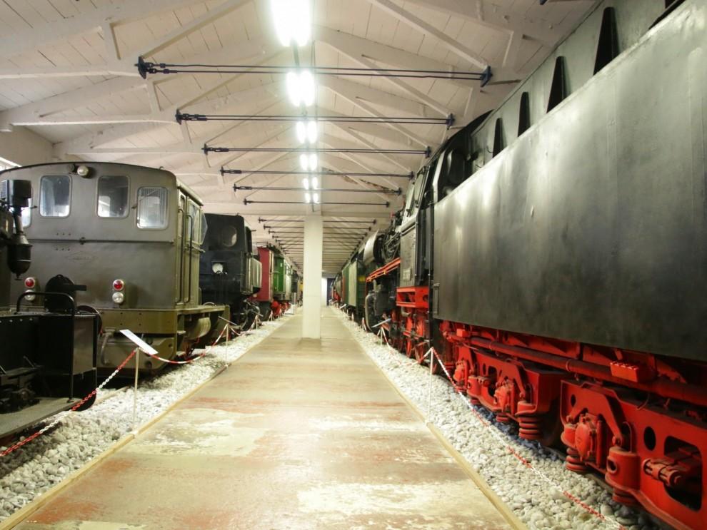 En stor del av museet handlar ju om Eisenbahn, järnväg såklart. Gillar man modelltågså är Binz ett ställe att botanisera på för här står en hel del av Märklins förlagor.