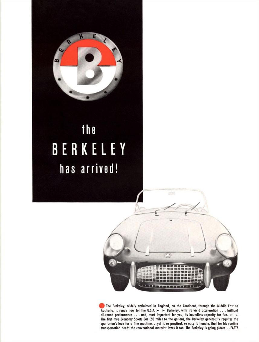 Minst och märkligast av alla brittiska bilar man sålde i USA var Berkeley.