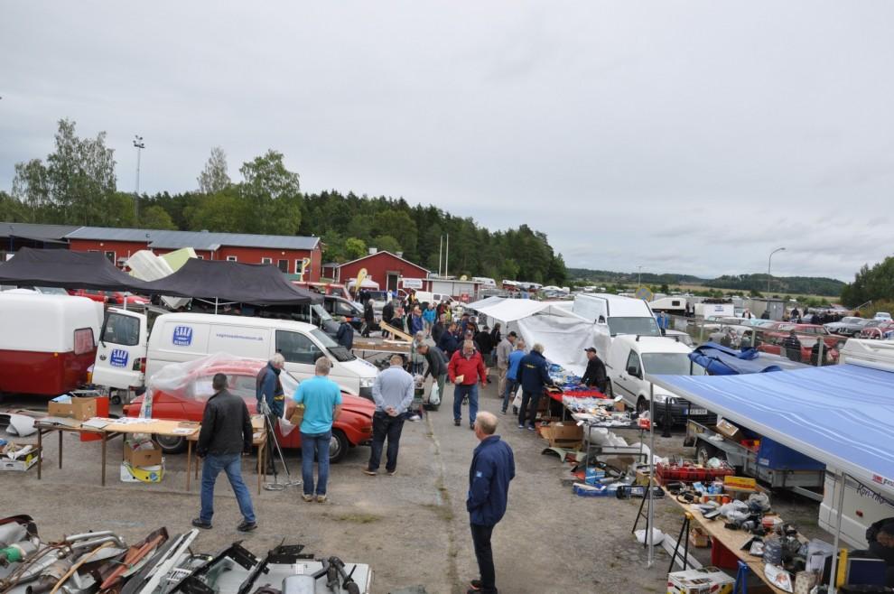 Saabmarknad i Norrköping