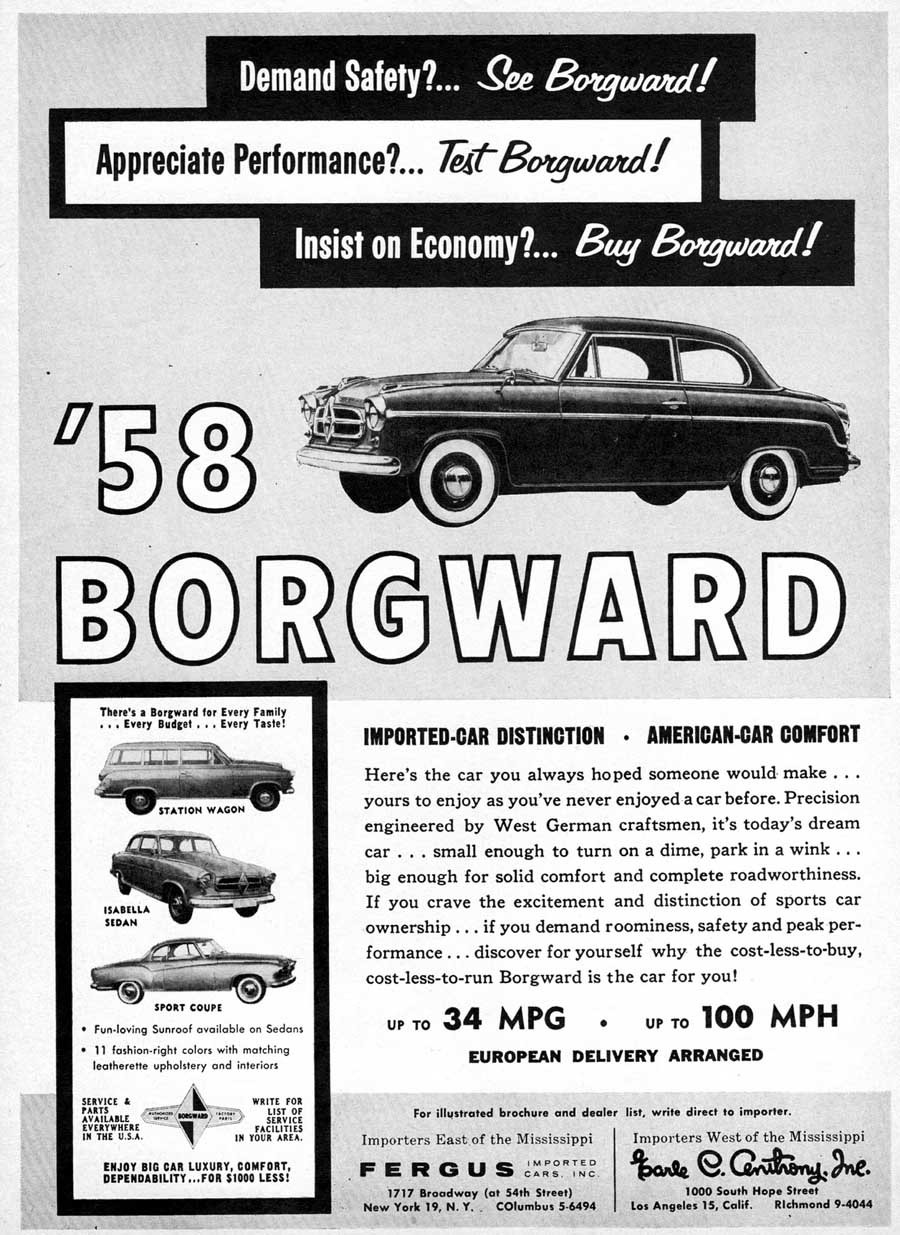 Borgward 1958