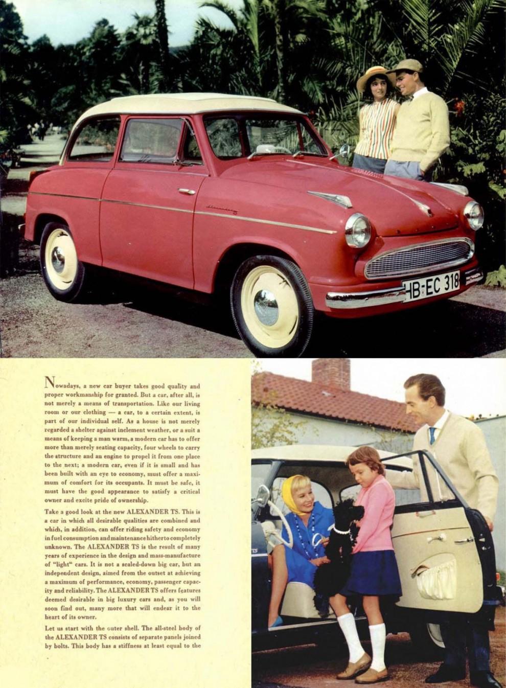 Lloydbroschyren för USA 1959.