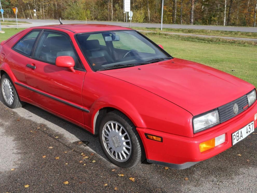 En Corrado G60 som gått under 10 000 mil för 42 000 kronor. Helt ok!