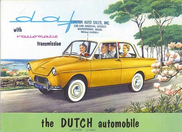 Dafbroschyren 1960 för USA