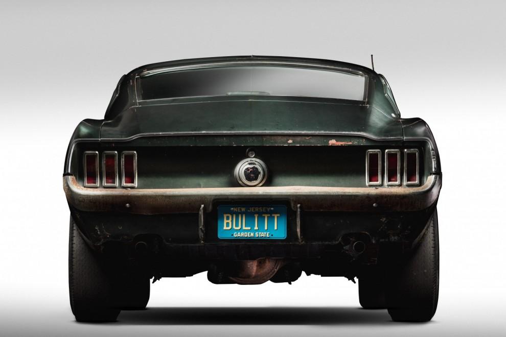 Ford Mustang GT från filmen Bullitt