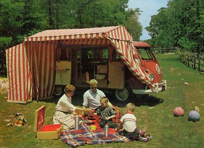 Volkswagenbussen kunde vara allt från lastbil, buss, familjebil och fullutrustad sommarstuga på hjul.