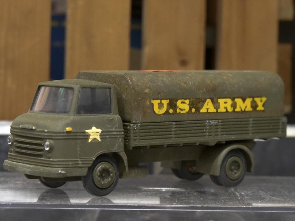 En Volvo Snabbe i Teknoversion – men inte körde väl US Army Volvo?