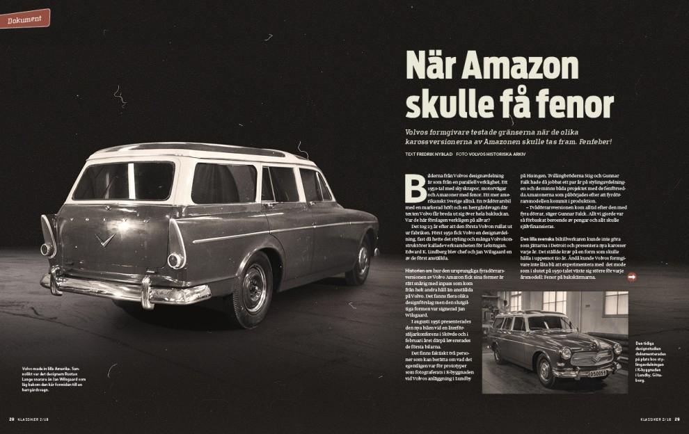 Amazon kunde ha blivit mer amerikansk i uttrycket visar bilderna från stylingavdelning.