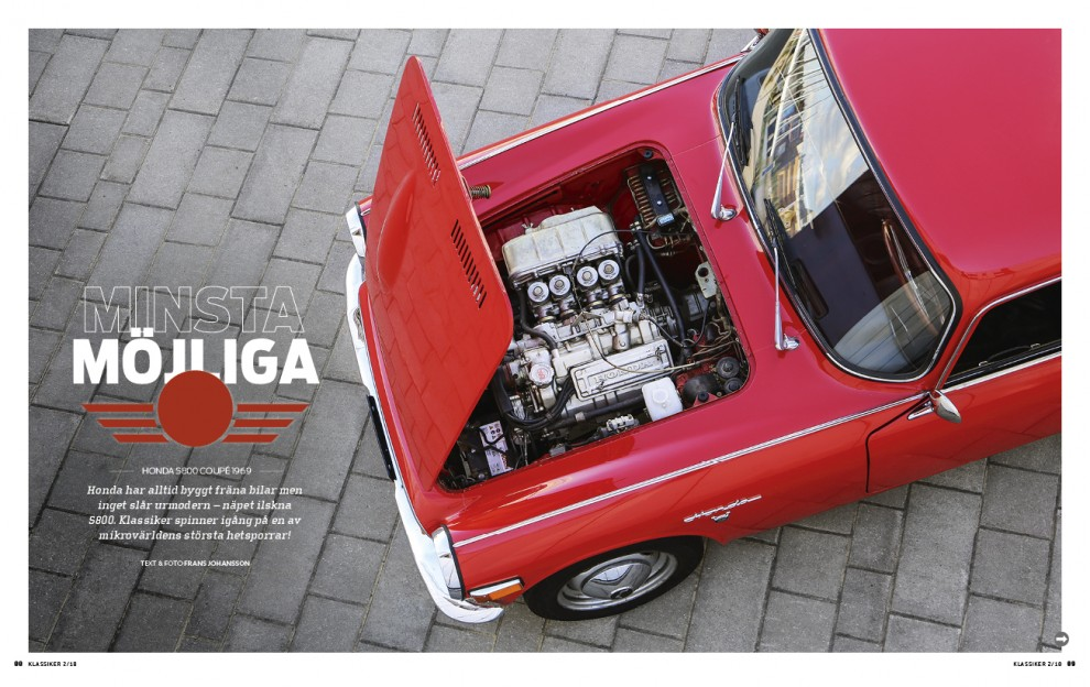 Honda S800 – vilken fickraket!