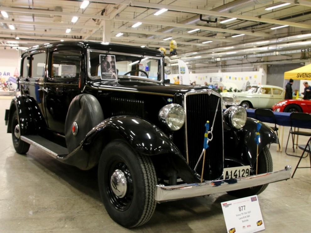Volvo TR704 från 1937 tillhörde också den kategorin.