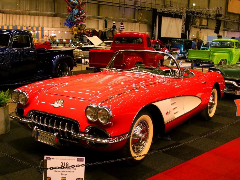 Temamonter 1958, Corvette