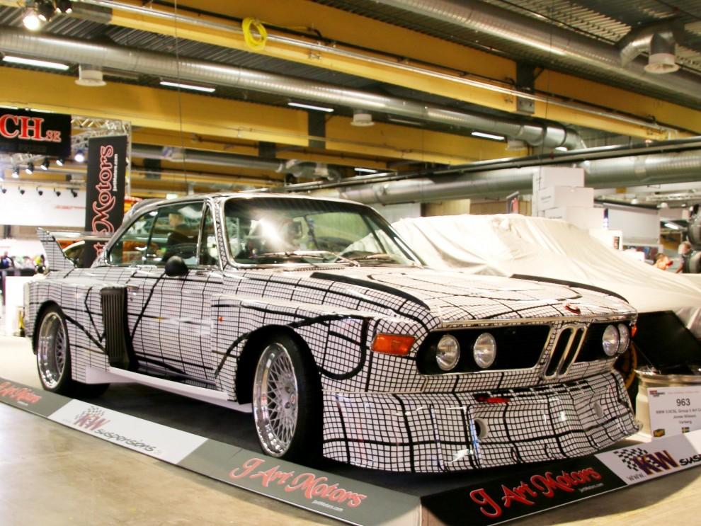 välkänd replika av en av BMW:s 'art cars'