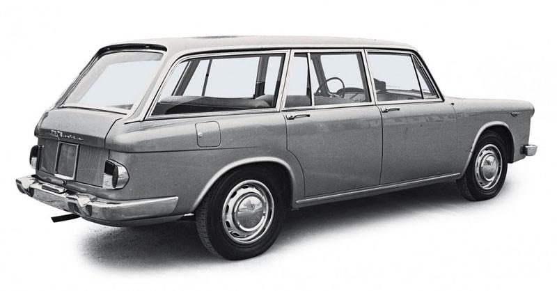Visst blev Lancia Flavia elegant som kombi?  Denna gjordes av Francis Lombardi 1962.