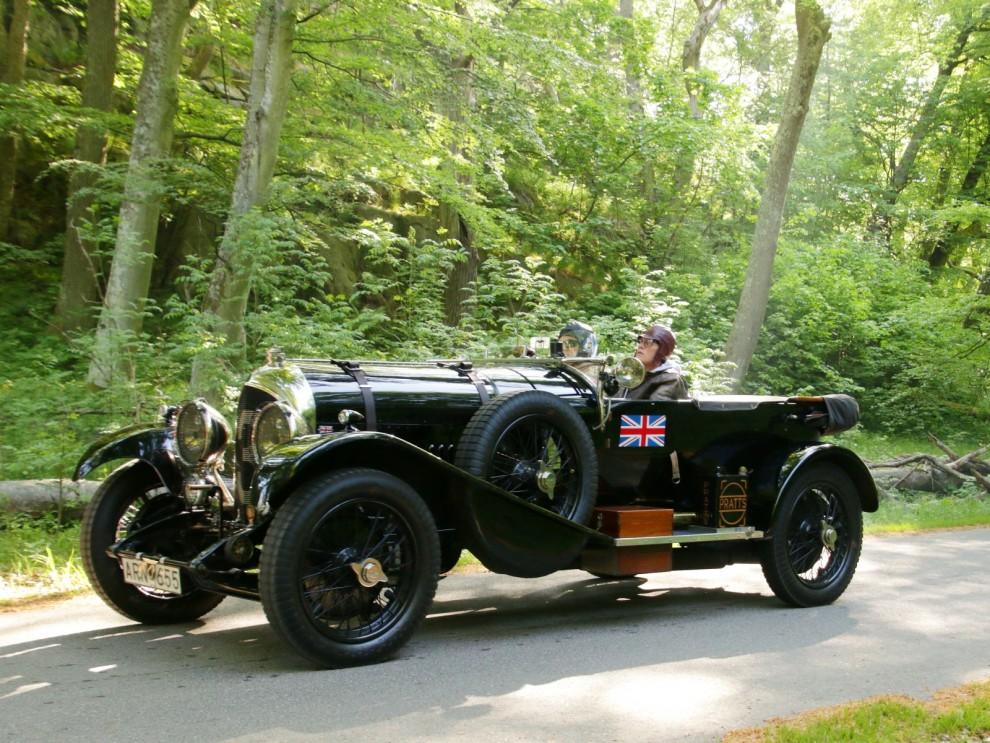 Bentley 4 litre från 1926 är en magnifik pjäs.