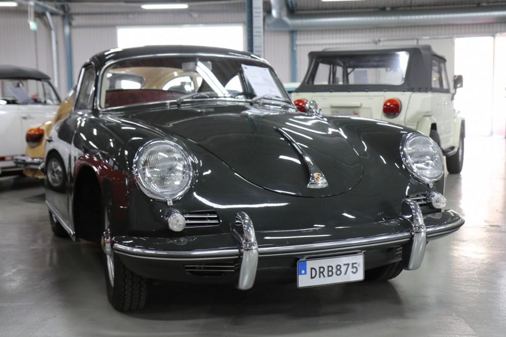 Porsche 356B 1961 med svensk bakgrund 710 000 kronor.