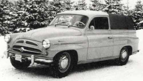 Skoda 440 pickup var en praktisk modell som ratades på oklara grunder