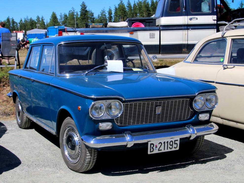 Fiat 1300/1500 kallades Juventus i Sverige, men inte i Norge eller någon annastans heller för den delen.