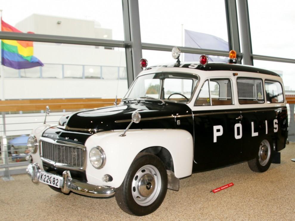 Den användes flitigt som polisbil, även utanför Sverige.