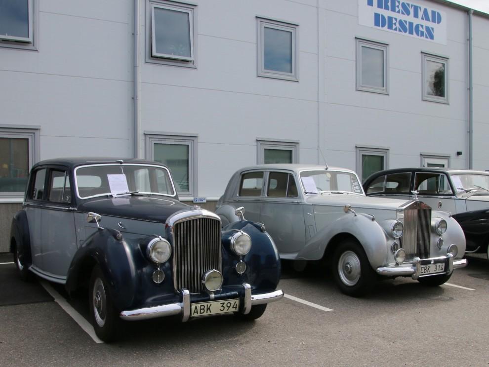 Bentley R-type och Rolls-Royce Silver Dawn, syskonmodeller