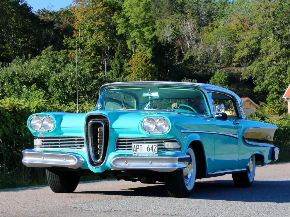 Den har kallats bilvärldens största flopp, men var den så illa egentligen? Edsel har idag många entusiaster och flera stycken dök upp på Skokloster