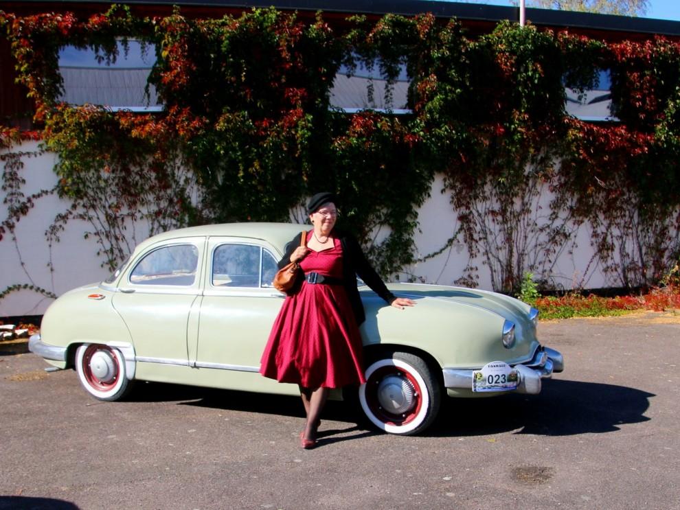 Panhard Dyna Z, spännade bil som var byggd helt i aluminium redan för 65 år sedan.