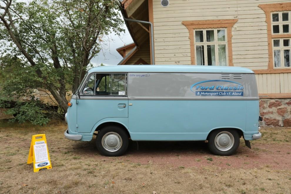 Fordklubben på Åland har en egen skåpbil! En Taunus Transit FK 1250, 1964.